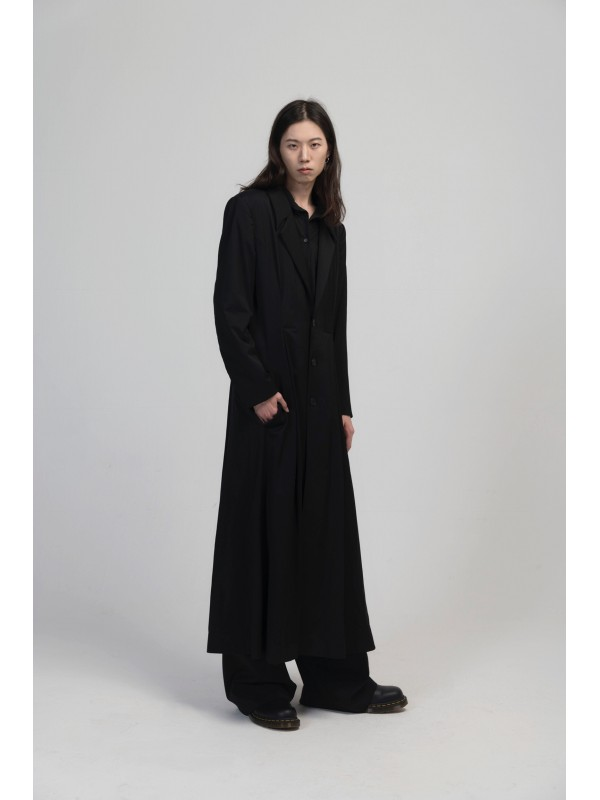 Men's Slim Long Coat